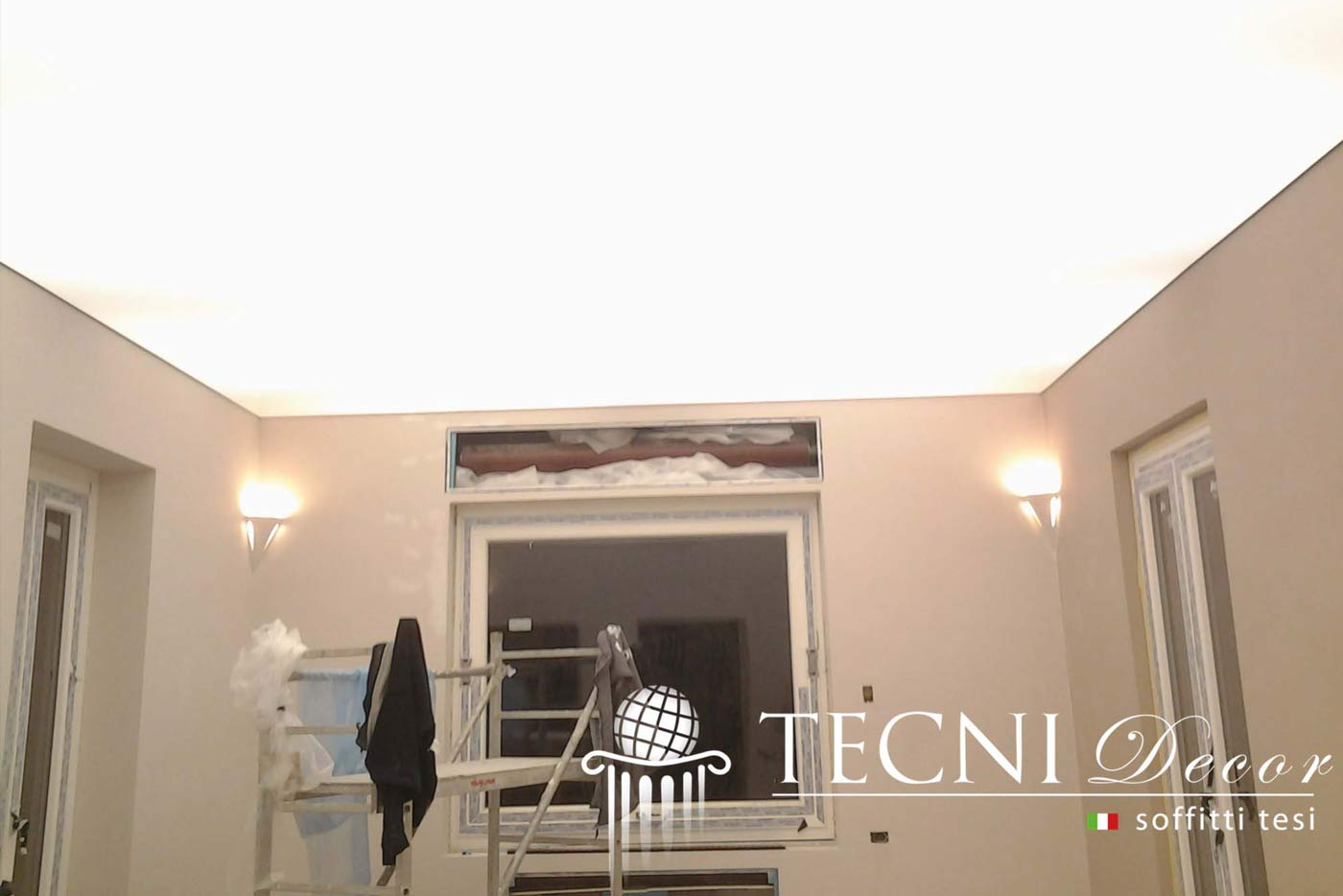 Soffitto Led O Neon: Plafoniera sottopensile led t5 altissima qualità 30 60 9...